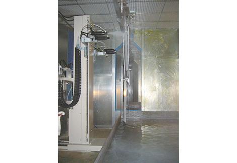 溶剤塗料静電塗装装置2式